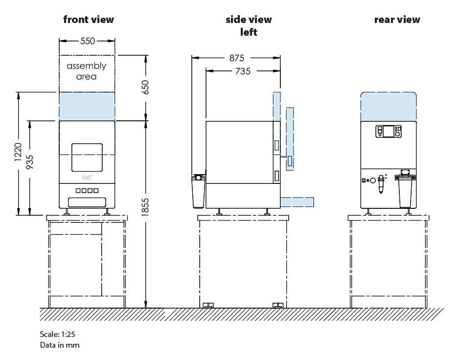 Installation plan DC1